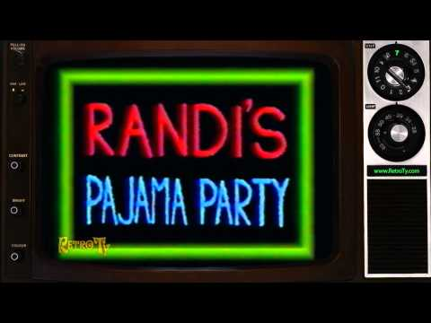 1987 - WGRZ - Randi's Pajama Party Still Logo