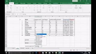 Excel : utiliser la fonction max et min