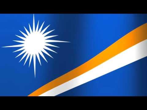 Flag of the Marshall Islands - Aolepān Aorōkin M̧ajeļ