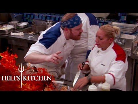 HUGE Argument Makes Gordon Step In | Hell's Kitchen