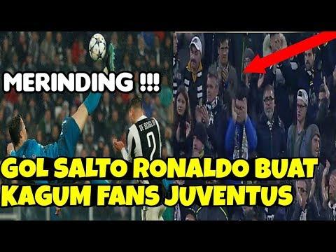 Gila ! Gol Salto Ronaldo Buat Kagum Fans Juventus !!