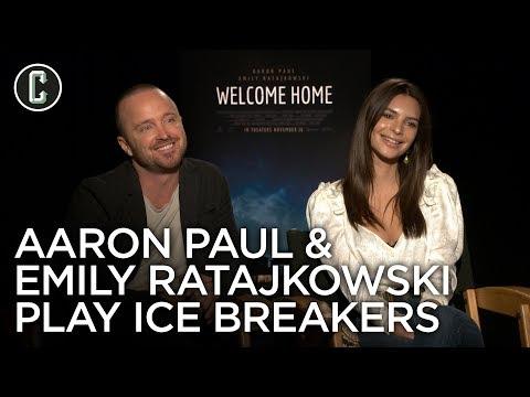 Emily Ratajkowski & Aaron Paul Nerd Out Over Lost, Game of Thrones