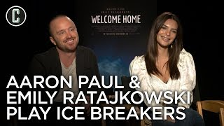 Emily Ratajkowski & Aaron Paul Nerd Out Over Lost, Game of Thrones
