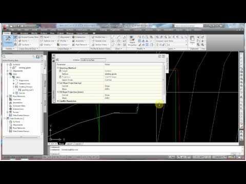 AutoCAD Civil 3D Modifying Existing Grading Groups