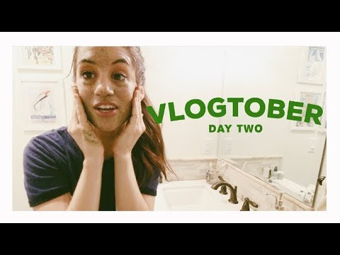 The One With The Face Mask (Vlogtober 2nd) Alli Cherry