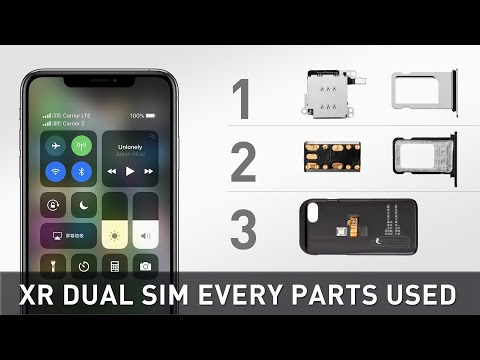 IPhone XR Hack - Dual SIM  All Three Solutions And All Parts