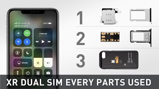 Gambar cover iPhone XR Hack - Dual SIM  All Three Solutions And All Parts