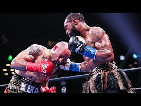 Gary Russell BUSTS OPEN GASH! vs Kiko Martinez in TKO VICTORY!
