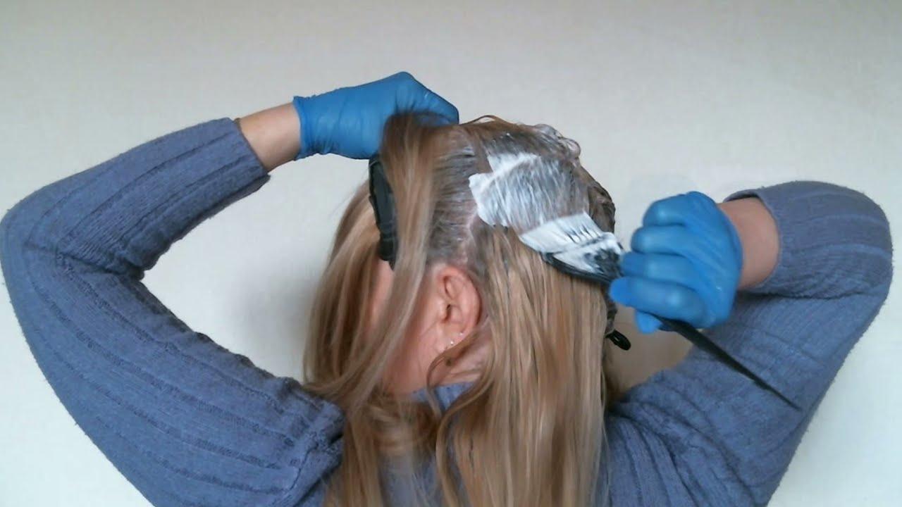 Как перекрасить тёмные волосы в более светлый оттенок? 9