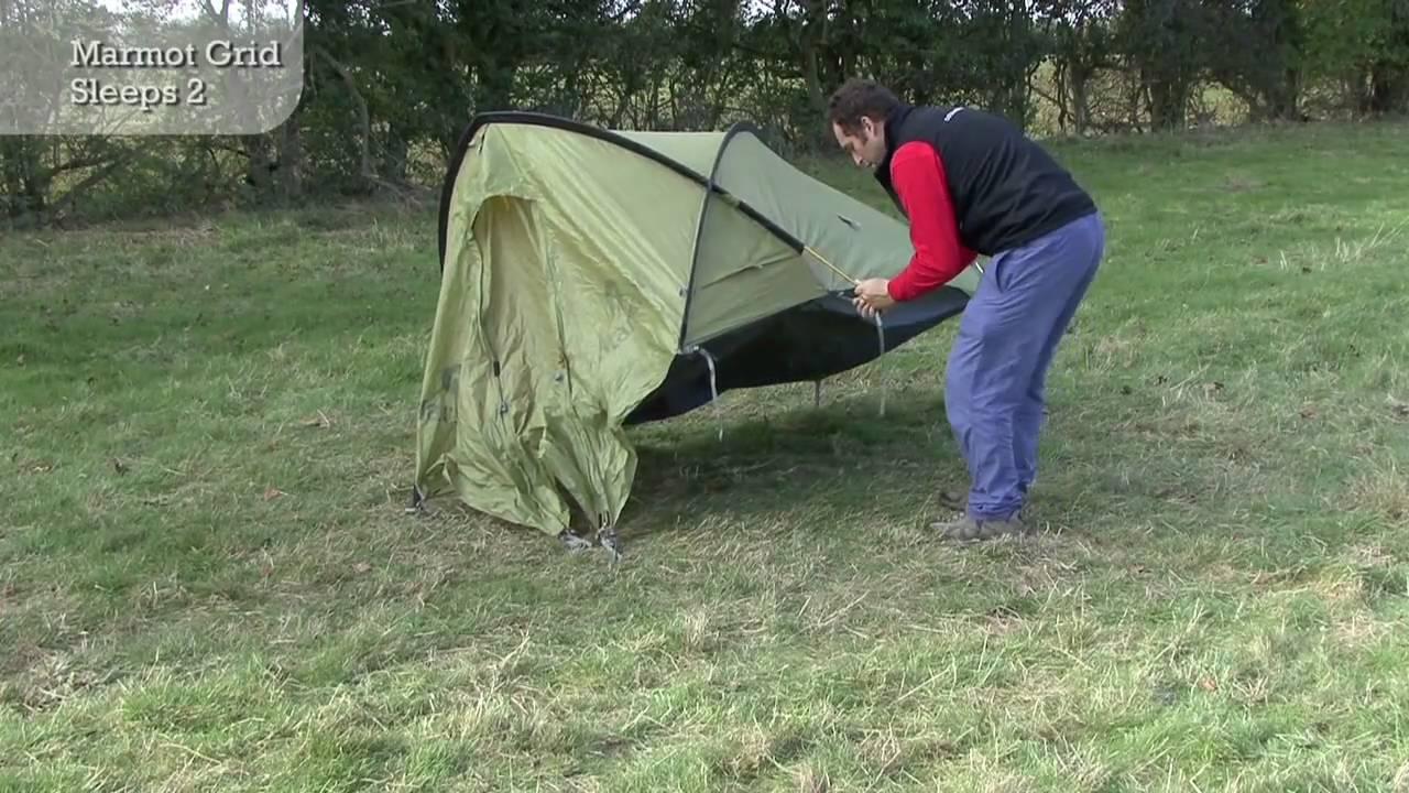 Marmot Grid 2 Person Tent & Hammer 2P Hammer Orange Large ...