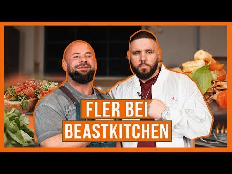 FLER bei BeastKitchen | Graffiti, Carbs & kleine Sünden | Sharo45