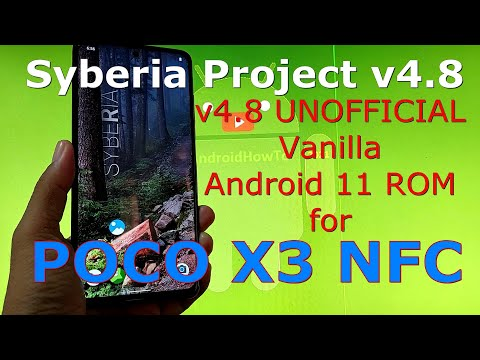 Syberia Project v4.8 for Poco X3 NFC (Surya) Android 11