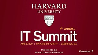 Harvard IT Summit 2017: Morning Welcome and Keynote by Nicco Mele thumbnail