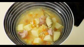 Гороховый суп рецепт приготовления от шеф-повара / Илья Лазерсон / русская кухня