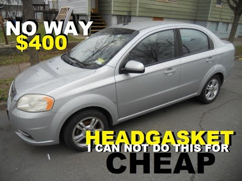 Chevy Aveo I Can Not Do This 400 Head Gasket Job Youtube