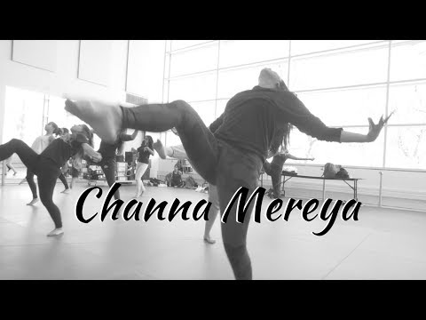 Channa Mereya Dance (Ae Dil Hai Mushkil) | Beginner Bollywood Contemporary Class Choreography