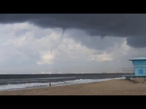 HB Waterspout, CA, 10/12/12