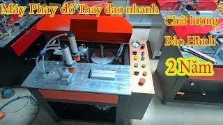 Máy Phay Đố Thay Dao Nhanh Tự Chế Cho Anh Em Nào Cần 0978960930
