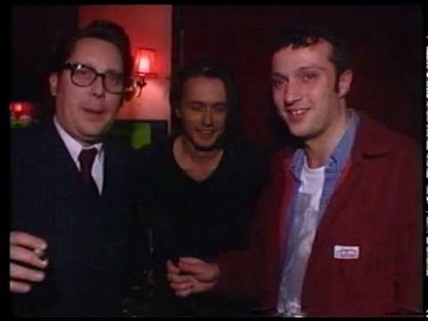 Vic Reeves & Brett Anderson at the 1994 NME Brat Awards
