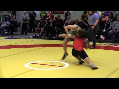 2014 Wesmen Open: 51 kg Alyx Paulson vs. Vivian Mark