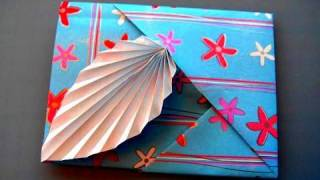 Hoe maak je een Origami Blad Kaart
