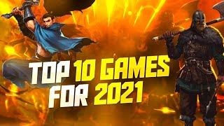 Top 10 Mobile Gaṁes of 2021 for Android and iOS!