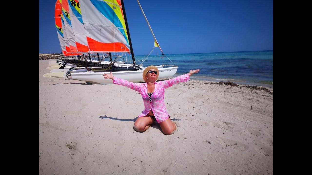 о. Джерба Тунис июль 2019.Hotel Fiesta Beach Club.Обзор отеля