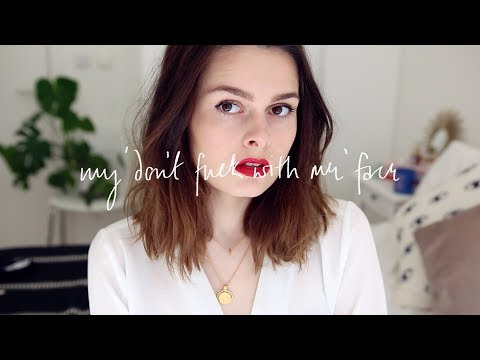My Don't F With Me Face | Cruelty Free | Lucy Moon