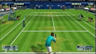 Virtua Tennis World Tour Sony PSP Gameplay - Damn