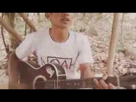 Adista ku tak bisa Guitar Iseng2 sama temen di saung kabayan