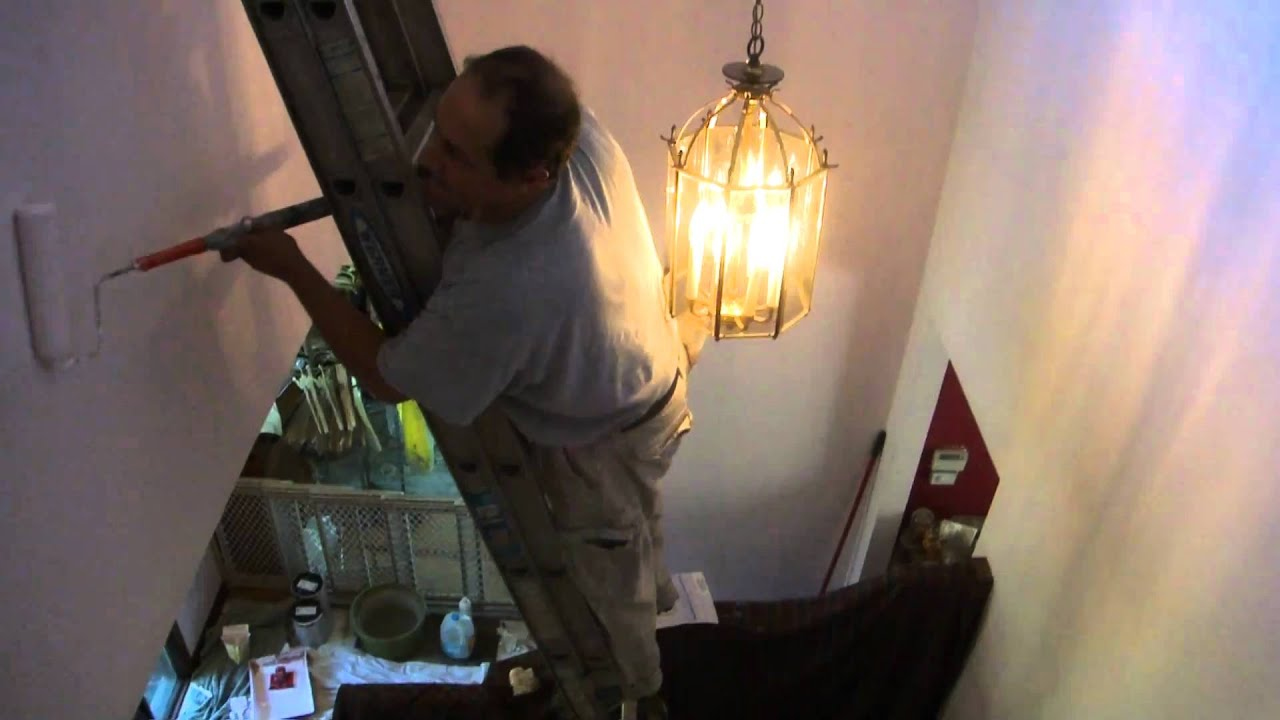 How To Paint A Hallway how to paint a hallway - youtube