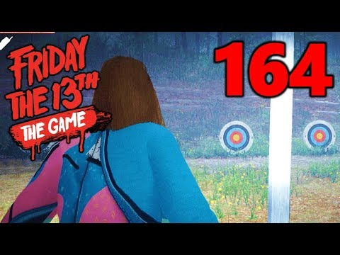 [164] Archery Range Hideout! (Let's Play Friday The 13th The Game)