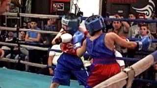 JAHANZEB RIZWAN / JASON ASKITI : JUNIOR OLYMPIC BOXING 4/4/15 : 95 lb . 3 rounds