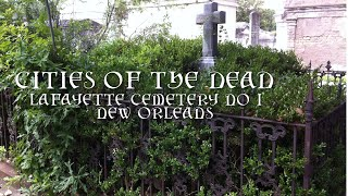 Lafayette Cemetery No 1, New Orleans, Louisiana - September 2019