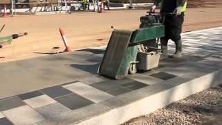 видео granite paving