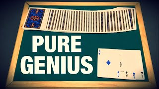 This Card Trick Is Simply GENIUS!