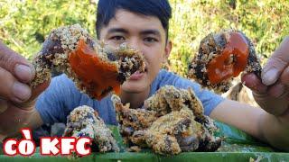 Thử Làm KFC Từ Chim Cò | Bẫy Chim Cò Chiên Giòn