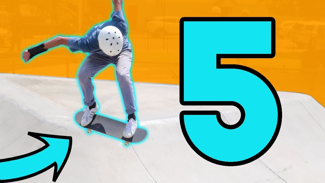 5 TIPS TO GET GOOD AT SKATEBOARDING FAST!