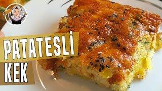 Patatesli kek tarifi-Börek tadinda cok kolay yapimi-Hatice Mazi