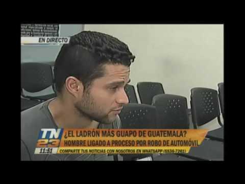 El ladrón más guapo de Guatemala