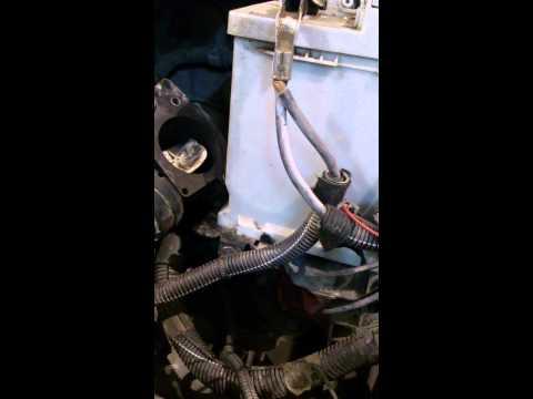 Промывка дроссельной заслонки ситроен берлинго