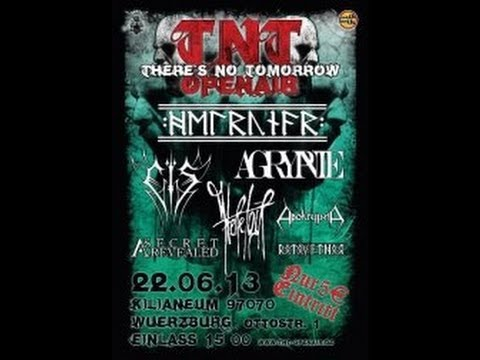 AGRYPNIE Interview / Live @ TNT Festival 2013 / STAGE diver episode 49