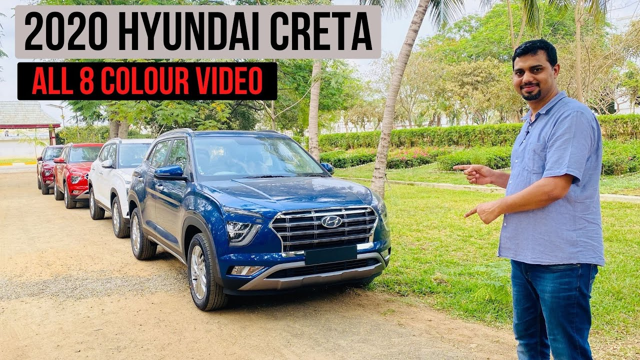 2020 Hyundai Creta S All 8 Colours Explained In Exclusive Walkaround Youtube