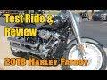 Test Ride-Unbox-2018 Harley Davidson Fatboy