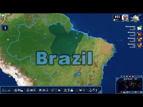 "Geopolitical Simulator 4 - A ""Neoliberal Approach"" to Brazil Ep. 4 Expanding the Military"