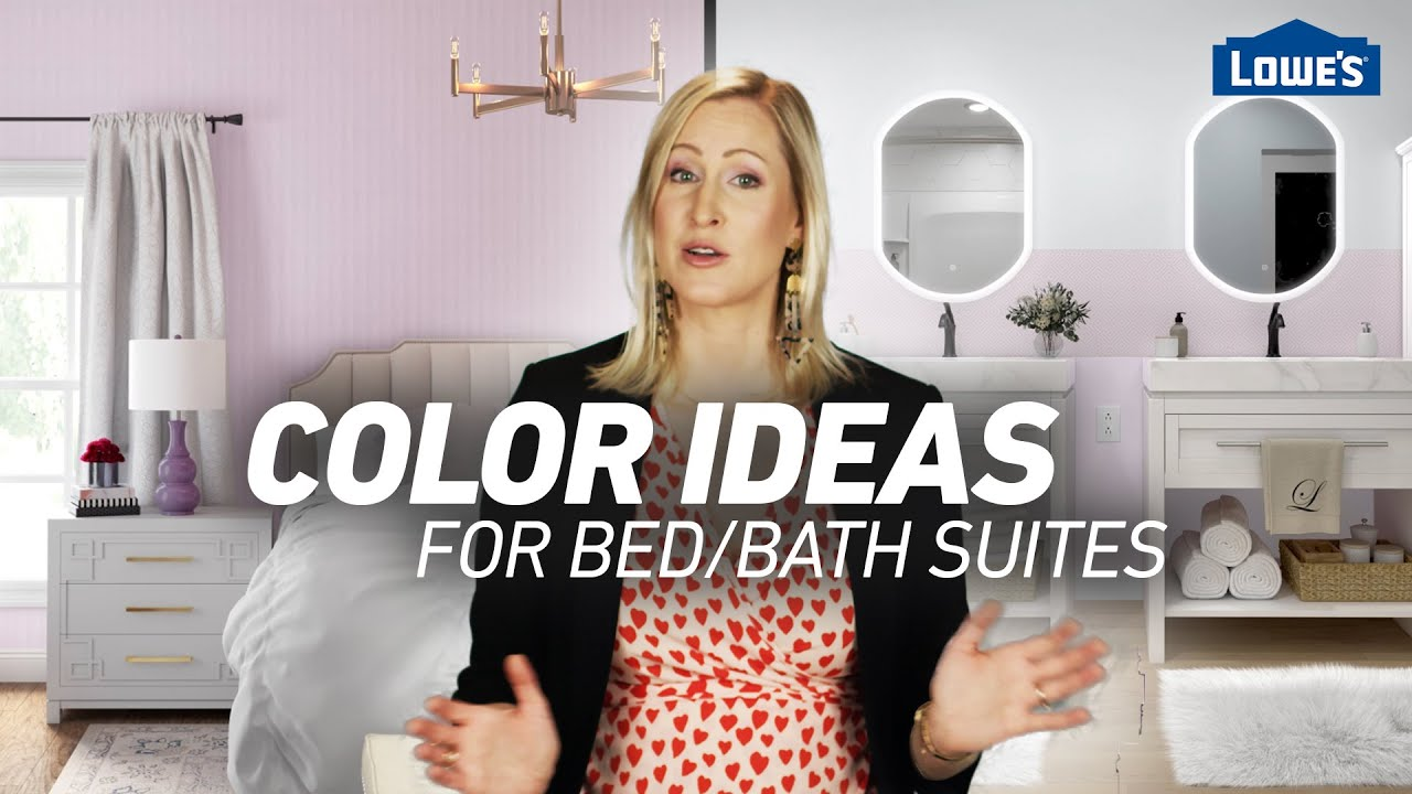 4 Bold Color Combos for Bed + Bath Suites