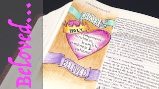 Bible Journaling: How to Draw a Banner! & Being God