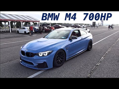 700whp BMW M4 Roll Races Porsche Viper Mustang M5 & More