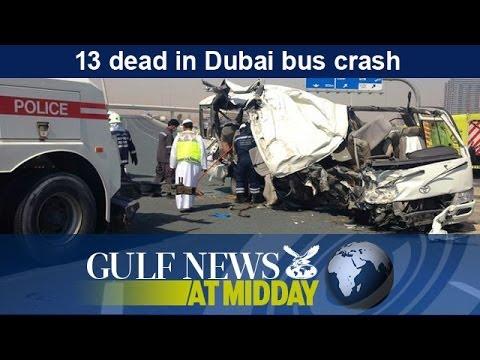 13 dead in Dubai bus crash - GN Midday