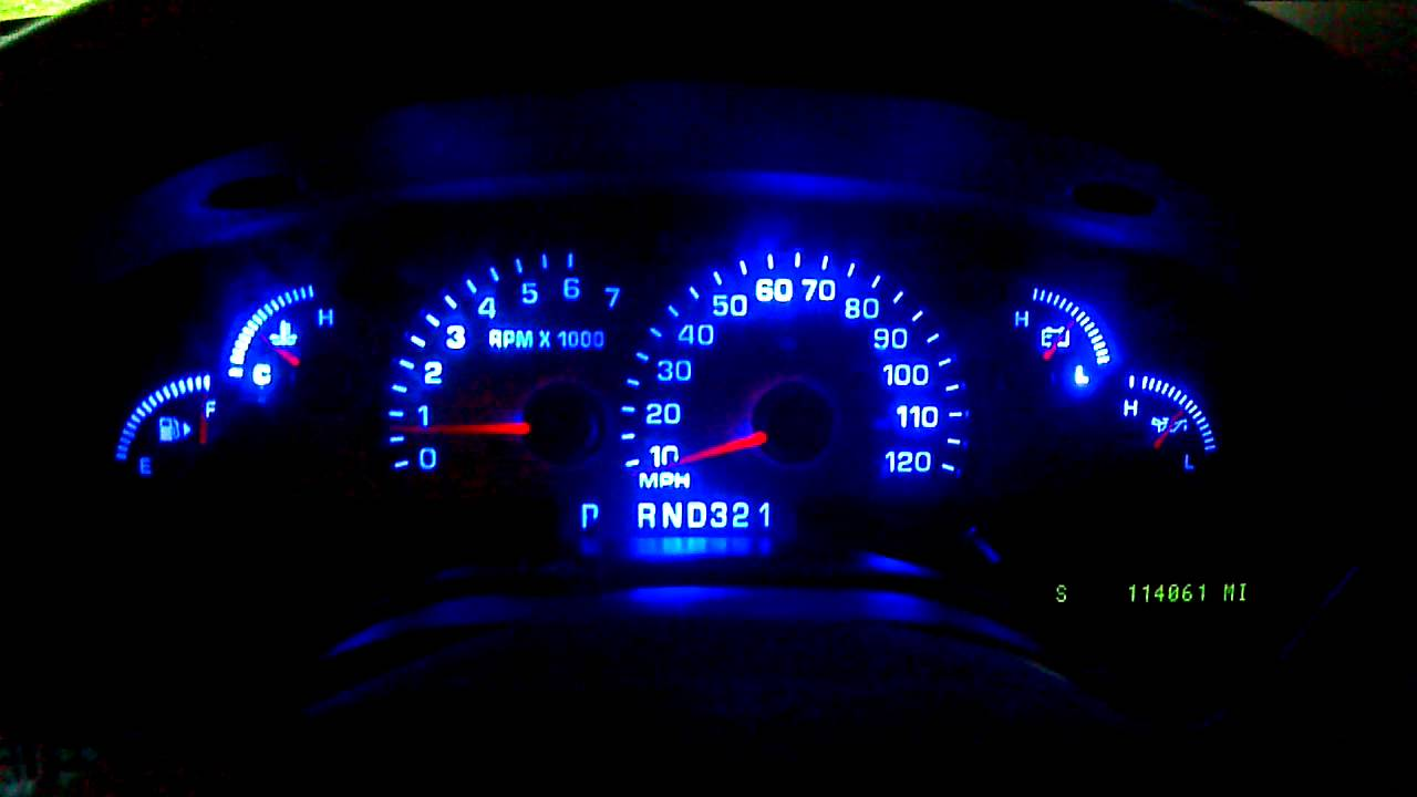 3rd Gen Gauge Cluster Led Conversion Final Overview Youtube